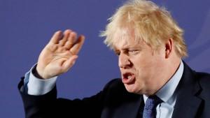 Johnsons Drohungen