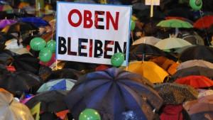 Festnahmen nach Protesten gegen Stuttgart 21
