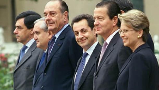 Chirac drückt aufs Tempo
