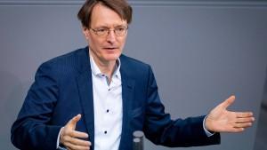 Lauterbach fordert Schnelltests am Arbeitsplatz