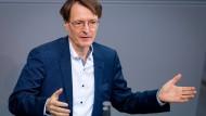 Zweimal pro Woche pro Mitarbeiter: Karl Lauterbach will Schnelltests zur Regel machen