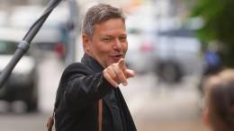 Habeck: Werden zuerst auf die FDP zugehen