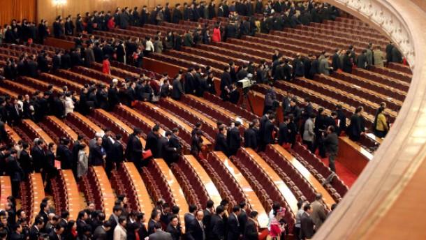 Politische Lähmung in Peking