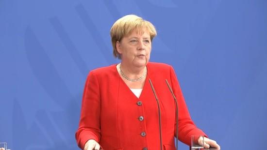 Merkel pocht auf Zwei-Staaten-Lösung für Israel und Palästinenser