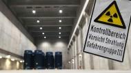 Zwischenlager des Kernkraftwerks Gundremmingen (Archivbild aus dem Februar 2009)