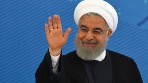 """Irans Präsident fordert """"positive Signale"""" für Atom-Abkommen"""