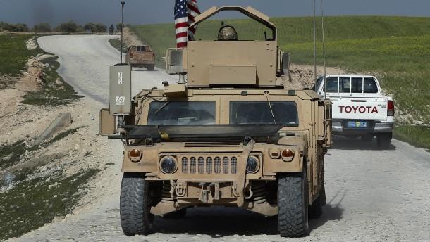 Will Trump den Syrien-Einsatz beenden?