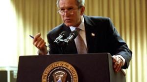 Bush bereitet Amerikaner auf Krieg vor