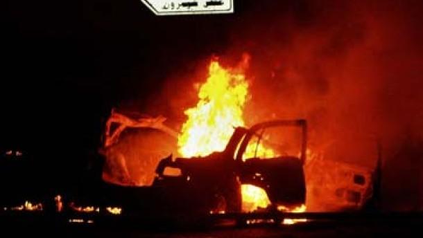 Tote nach Selbstmordanschlag bei Nablus