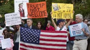 So schadet Trump dem Image Amerikas
