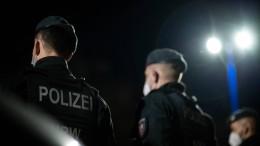Polizei stoppt anti-israelischen Demonstrationszug
