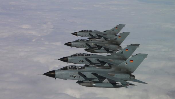 Ein politisiertes Kampfflugzeug
