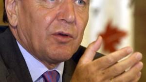 Schröder zweifelt erstmals an Arafat