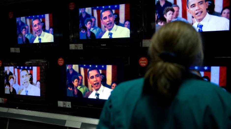 Obama wirbt zur besten Sendezeit auf mehreren Kanälen gleichzeitig für seine Politik