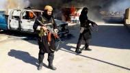 Isis-Kämpfer in der Provinz Anwar