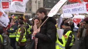 12.000 Berliner Landesbeschäftigte streiken