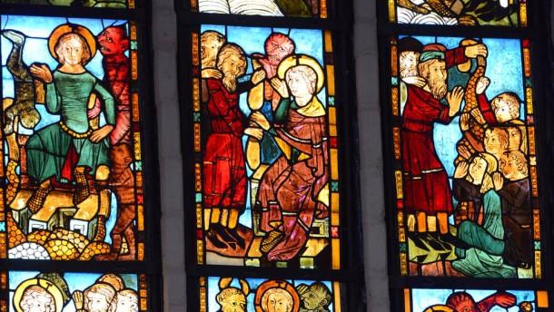 Chorhauptfenster in der St. Marienkirche