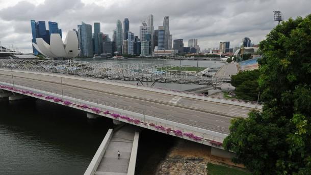 Singapur geht in der Pandemie zur Wahl