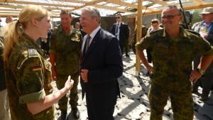 Gauck würdigt Bundeswehreinsatz in der Türkei