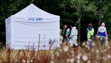 Anfang September bei Hannover: Polizisten entdecken Leichenteile
