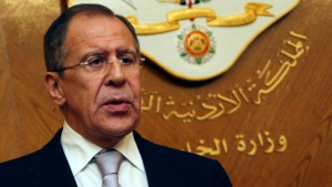 Lawrow trifft  Assad-Gegner