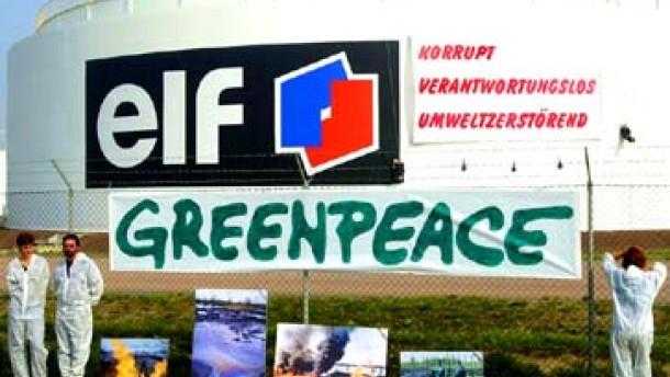 Greenpeace beklagt Zensur