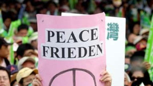 Sagt Nein zu China, sagt Nein zu Raketen