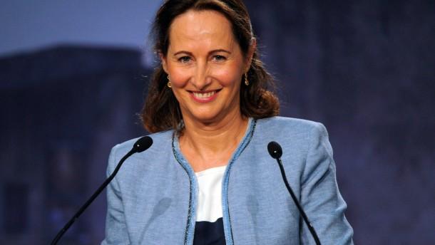 Ségolène Royal wird Umweltministerin