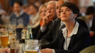 Frauke Petry bei einer Veranstaltung im Münchener Hofbräukeller im Mai