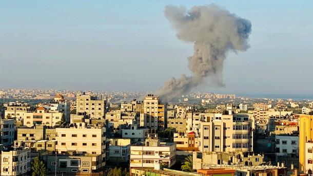 Israel greift Hamas-Ziele im Gaza-Streifen an