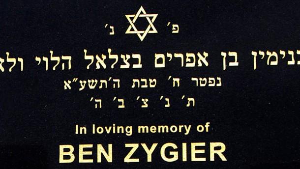 Grabstein Ben Zygiers