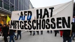 Der AfD nicht voreilig Mitschuld für Hanau geben