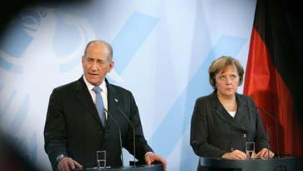 Olmert trifft Merkel