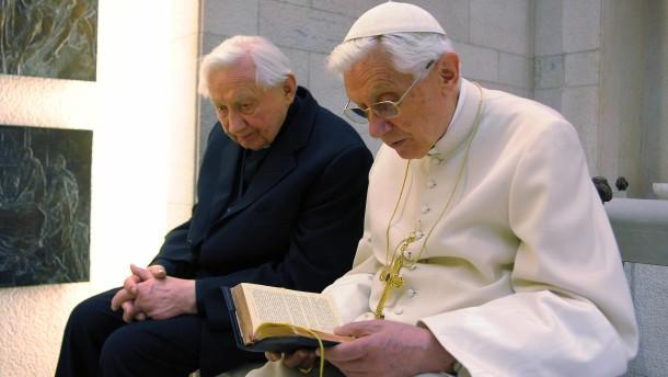 Der Bruder des Papstes
