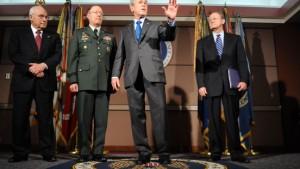 Geheimdienstchefs unterrichten Obama