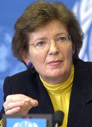 Kämpft um den Konferenzerfolg: <b>Mary Robinson</b> - kaempft-um-den-konferenzerfolg