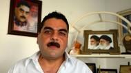 Bei Luftangriff nahe Damaskus getötet: Der Hizbullah-Extremist Samir Kuntar 2008 in Beirut nach seiner Freilassung aus israelischer Haft.