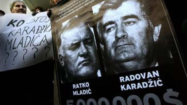 Kriegsverbrecher Mladic weiter auf der Flucht
