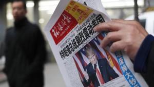 Pekings neue Angst vor einem Handelskrieg