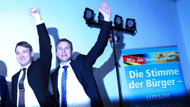 AfD kommt in Sachsen auf 25 Prozent