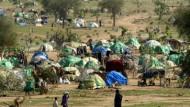 Flüchtlingslager in Tschad