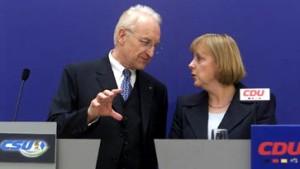 Merkel und Stoiber fordern Nachbesserungen bei Zuwanderung