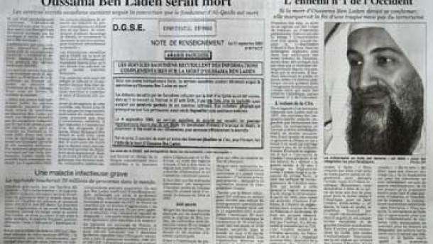 Saudi-Arabien: Keine Hinweise auf Tod Bin Ladins