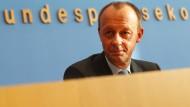 Wider den extremistischen Verführern: Friedrich Merz am Mittwoch in Berlin