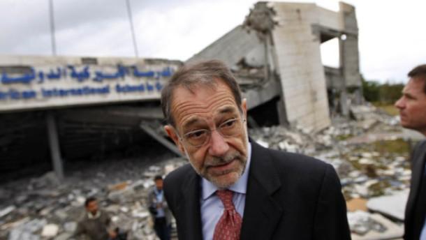 Solana sagt Hilfe für Gazastreifen zu