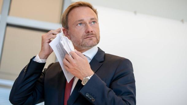 Lindner erwartet Scheitern der Lockdown-Strategie