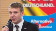 Haftbefehl gegen AfD-Spitzenkandidat Poggenburg besteht weiter