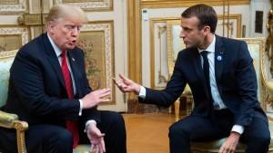 Trump macht sich über europäische Armee lustig