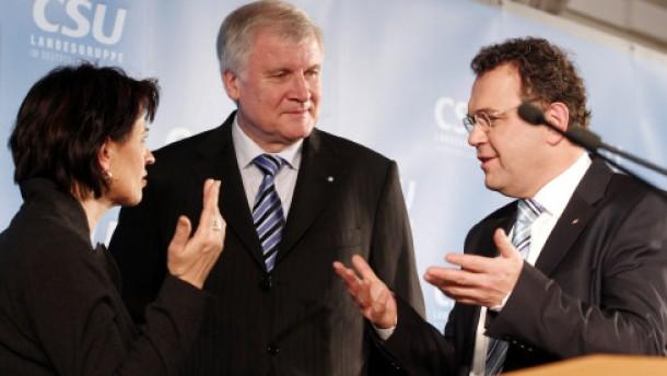 Die CSU geht mit der FDP behutsam um