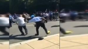Erdogans Sicherheitsleute sollen Demonstranten angegriffen haben